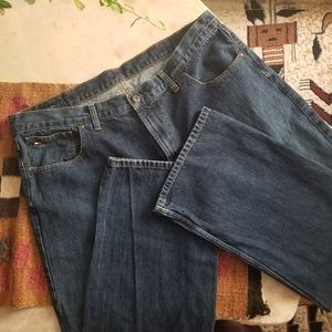 Tommy Hilfiger Men's Dark Wash Freedom Jean